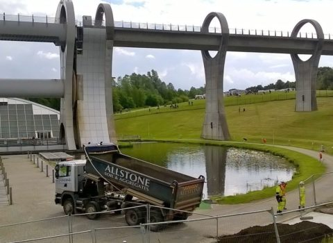 Falkirk Wheel Landscaping