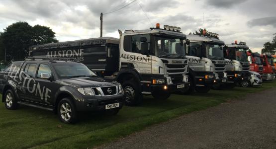 Lorries at Truckfest