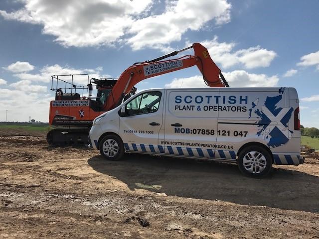 SPO Van - Excavator